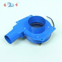 Wholesale Exhaust Ventilation - 80w small powerful high pressure DC 12V steel smoke gas exhaust suction centrifugal ventilation extractor fan