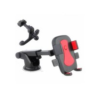 Wholesale Motorbike Handlebars - Universal Motorbike Bicycle Handlebar Mount Holder Smart Cell Phone GPS Stand Holder Flexible 360 Degree for iPhone Samsung