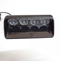 ingrosso luce ambulanza-Luci di avvertimento istantanee della torcia elettrica della ventosa del parabrezza anteriore dell'automobile 16LED usate per l'automobile, il camion, lo spazzaneve, la polizia, lo SME, l'ambulanza DC12