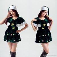 Wholesale Singer Wholesale - 2017 The New Christmas Clothing Multi - Style Photo Studio Photo Service Green Christmas Party Service Singer Clothes