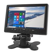 Wholesale Interface Monitoring - 800 x 480 7 inch Bright Color HDMI Interface TFT LCD AV VGA Car Monitor CMO_308