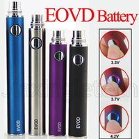 Wholesale Ego Twist Vaporizer Pen - EVOD Vape Pen Battery 650mAh 900mAh 1100mAh Variable Voltage 510 Vaporizer Battery ego twist ecig batteries for MT3 CE4 CE5 atomizer