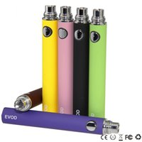 Wholesale Voltage E Cig Kit - Variable Voltage EVOD Battery EVOD Rechargeable Battery Fit 510 Thread E Cig Kits MT3 CE4 CE5 Atomizer