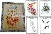 Wholesale Tattoo Sketchbooks - Wholesale- Yuelong Tattoo Supply Wholesale Free Shipping New Pro Xuan Feng Tattoo Flash sketchbook tattoo Magazine A4 Size VOL. 2