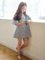 Wholesale 2017 Latest fashionable hot sale cute beautiful baby children girl summer cutton Cap Sleeve skirt dresses on sale