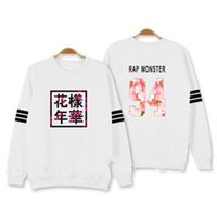 Wholesale Kpop Pullover - Wholesale- streetwear Bangtan Boys Kpop BTS Hoodies Sweatshirts Letter Printed in J-HOPE 94 and SUGA 93 JUNG KOOK 9 men winter clothing