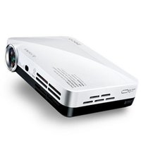 Wholesale Dlp Shutter 3d - Wholesale- Free shipping! Full HD 1280*800 pico 3D shutter DLP projector,Portable Overhead convert 2D to 3D mini dlp led projector