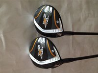 Manubrio X2 CALDO di Fairway Woods X2 HOT Woods golf club # 3 / # 5 R / S albero di grafite flessibile con copricapo