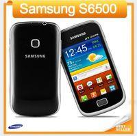cep telefonu kamera wifi gsm toptan satış-Samsung S6500 cep telefonu GSM 3G wifi GPS 3.15MP Kamera Unlocked cep telefonu Yenilenmiş cep telefonu