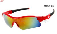 sport glasses frames 2018 - New Arrival Classic style Men's Sunglasses Red Color Frame Colorful Lens Driver Sunglass Windproof SUN GLASS Sport SUN Glasses