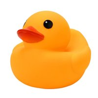 Vente en gros - Mini Yellow Rubber Ducky Duck Baby Bath Toys Bain Classic Bath Toys Duckling Rubber Water Toys Educational Swimming Pool