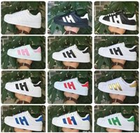 Wholesale Mint Lace Fabric - FREE SHIPPING Fashion mens Casual shoes Superstar smith stan Female Flat Shoes Women Zapatillas Deportivas Mujer Lovers Sapatos Femininos