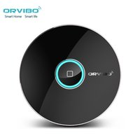 Wholesale Wireless Switch Home Appliance - Wholesale-Original Orvibo Allone smart home Automation Intelligent Smart phone wireless remote control home appliance WIFI+IR+RF switch