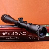 Wholesale Mil Dot Reticle Riflescope - NEW Tactical Optical Sight DIANA 4-16X42 AO mil-dot reticle Riflescope air soft hunting Rifle Scope