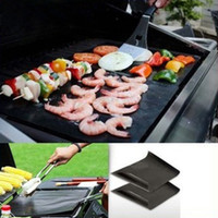 Wholesale Home Bbq Grill - BBQ Mat Large Size Barbecue Tool Silicone Barbecue Baking Bake Mat Oven Liner Reusable Non-Stick Cooking Grill Mats Outdoor Pad Home