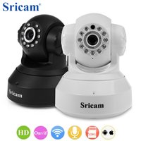 Telecamera IP wireless originale Sricam WiFi 720P HD Mini infrarossi Onvif P2P Baby Monitor SP012 Allarme di sicurezza Cam IRCut + B