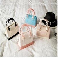 Wholesale Korean Handbag Jelly Candy Bag - Mini Jelly Candy Cross Body New Style Handbag PVC Pure And Fresh High-Capacity The Pillow Handbag Free Shipping