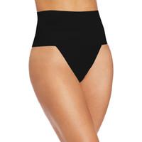 Wholesale Hip Cincher - Wholesale- MOONIGHT Sexy Womens Waist Cincher Butt Lifter Thongs String Control Panties New Body Shapers Shapewear Butt Lift Abdomen Hip