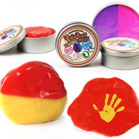 Wholesale Color Changing Toys - Color Change Fluffy Thinking Slime Hand Mud Floam Crunchy Slime Hand Putty play Clay No Smell Nontoxic Stress Reliever Kids Toy