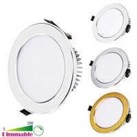 Wholesale Downlight Inch - New Dimmable LED Ceiling Lights 4-5-6-7-8-9.5 Inch 9W 12W 15W 18W 21W 30W LED Downlight Warm   Nature   Cool White LED Ceiling Lighting