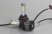 Wholesale Cleaning Headlights - 9004 HB1 40w 4800lm X6 COB series auto led headlight for cars and trucks,auto headlight cleaner,led headlight bulbs