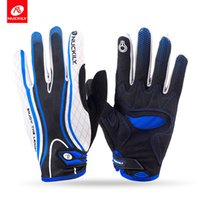Wholesale Nuckily Cycling - Nuckily new design touch screen full finger cycling Gloves for adults PD06