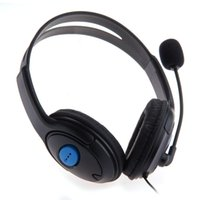 mic live al por mayor-3.5mm Port Premium Deluxe Grandes PS4 iPhone Auriculares Android / Auriculares Auriculares estéreo en vivo, auriculares, auriculares con Micrófono Mic,
