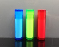 Wholesale Open Containers - 7cm 5ml Empty Lipstick Balm Bottle DIY Tube PP Plastic Lipstick Tube Lip Gloss Container Blue Green Red Colors