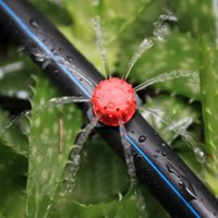 Wholesale Plastic Nozzles - 100pcs set Sprinkler Garden Irrigation Micro Flow Dripper Drip Head Irrigation Sprinklers Adjustable Water Dripper Head