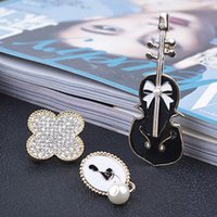 Wholesale Cameo Brooch Settings - New Fahion Elegant Charming Lady Gold Cameo Brooches Set Flower Trendy Brooch Pins Jewelry Clothing Apparel Accessory wholesale
