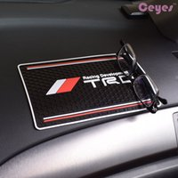 Wholesale Anti Toyota - Auto Car non-slip mat Logo for toyota TRD Powerful Anti Silp mat Washable Phone Holder Anti-mat Car Styling Car Accessories
