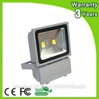 Wholesale House Floodlights - Wholesale- (12PCS Lot) Epistar Chip 3 Years Warranty Thick Housing Waterproof 100W LED Floodlight LED Flood Light Outdoor Spotlight Bulb