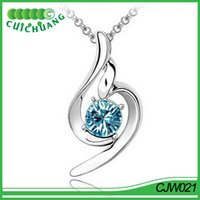 Pendant Necklaces squash blossom necklace - CJW021 Cuichuang squash blossom necklace
