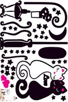 kedi duvar resmi duvar kağıdı toptan satış-Yeni Tasarım Duvar Sticker Kedi Çocuk Boy Yatak Odası Çocuk Fotoğraf Duvar Ev Dekorasyon Sanat Odası Dekor Koridor Duvar PVC