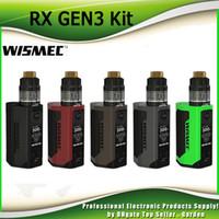 Wholesale Green Screen Wholesale - Original Wismec Reuleaux RX GEN3 Starter Kits 300W RX GEN3 TC Box Mod 1.3-inch OLED Screen 2ml GNOME Tank by JayBo 100% Genuine 2235033