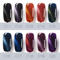 Wholesale Nail Polish Colors For Sale - Hot Sales FOCALLURE I'M GEL Polish Cat Eyes Nail Gel 30 colors QQ Gel 7ml Beauty for Women