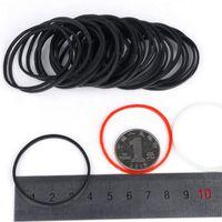 ingrosso nastri in gomma elastica nera-500 pz / pacco colore nero 40mm gomma nera elastico ufficio scuola casa accessorio imballaggio anelli di gomma spedizione gratuita papelaria