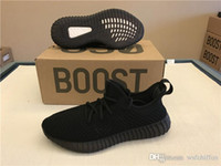 2017 Originals Boost 350 Womens Mens Womens CP9366 Spinta in Tutto Nero Hollow 350 V2 Moda DA9572 Scarpe da corsa Scuro Vuoto Verde Con Scatola