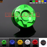 Wholesale Yamaha Cover Wholesale - Wholesale- Hot Sale Motorcycle Accessories For YAMAHA YZF R1 YZF R6 2000-2014 Front Brake Reservoir Cover Green