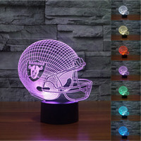 order led lights - 2pc New D Night Light Touch Button Colors Change LEDTable Lamp Gift Mix Order Custom Any LED College Light A14