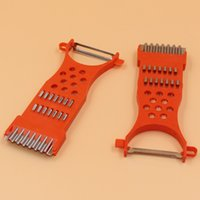 Wholesale Cheap Vegetable Peeler - Cheap&easy kitchen accessoriesMulti-functional Vegetable Fruit planing tool shredded plastic Peelers Zesters Graters  F96