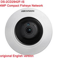 Wholesale Outdoor Origins - Origin English Version HIK Fisheye 4MP POE IP Camera DS-2CD2942F-IS Built In Mic and Audio 3D DNR Auto IR Wifi PTZ Camera