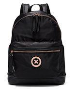 çanta siyah tutacakları toptan satış-MIMCO Moda Kadınlar SPLENDIOSA SıRT ÇANTASı Mimco Siyah Gül Altın Ton Donanım Polyester Düz Üst Döngü Kolu Çanta