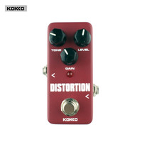 Wholesale Mini Distortion Pedal - Guitar Parts & Accessories KOKKO FDS2 Mini Distortion Pedal Portable pedal True bypass Guitar effect pedal