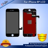 Wholesale Hot Touch Digitizer - Hot Sale ITEMSNo Dead Pixel LCD For iPhone 8 plus LCD Display Touch Digitizer For Phone 8 Plus with Tools With Free DHL Shipping