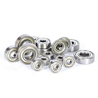 Wholesale Ball Roller Bearing - Factory direct sales Carbon steel bearings Deep groove ball bearings Fingertip gyro Scooter Roller skates Bearing free shipping