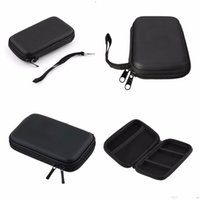 """Wholesale Bag External Disk - Wholesale- Black Portable Zipper External 2.5 HDD Bag Carry Case Pouch For 2.5"""" HDD Hard Disk Drive Protect #"""