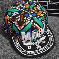 Wholesale Wholesale Fitted Kids Baseball Caps - Kids totem pattern caps 3D printing sports hats baseball cap children baseball caps fitted snapbacks caps adult hip hop hats ball cap A0749