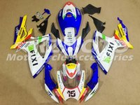 Wholesale Fairings For Motorcycles - New ABS motorcycle Fairing kits bodywork set Fit FOR SUZUKI GSXR 600 750 K6 2006 2007 GSX-R600 GSX-R750 06 07 FIXI number 16