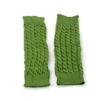 Wholesale Ivory Leggings For Girls - Wholesale- Leg Warmers for Girls Gaiters Knit Warm Crochet Leggings Boot Cuffs Knee High Trim Boot Legging Warmer #45